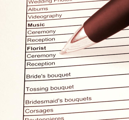 Learn how to plan a wedding