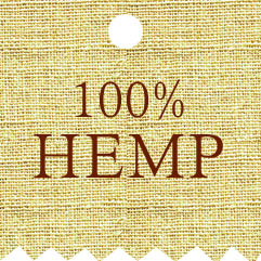 Hemp bags & pouches label