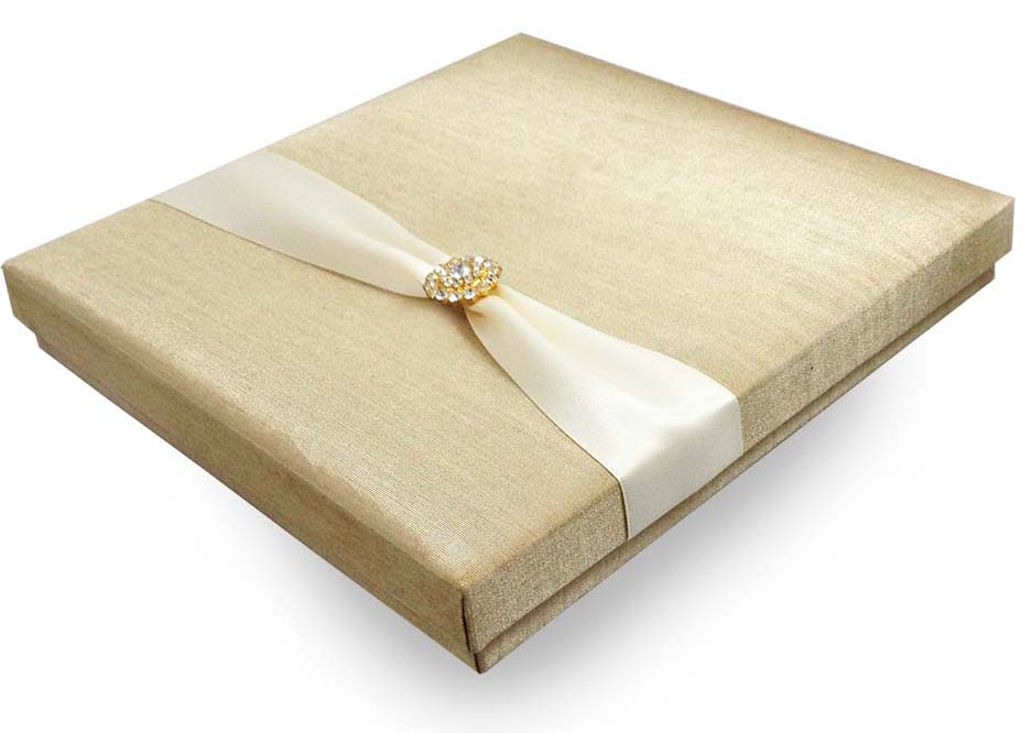 DIY Luxury Silk Invitation Boxes PRESTIGE Wedding Event Trend BLOG